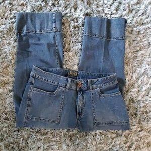 Jag Jeans Blue Wide Leg Jeans Size 16
